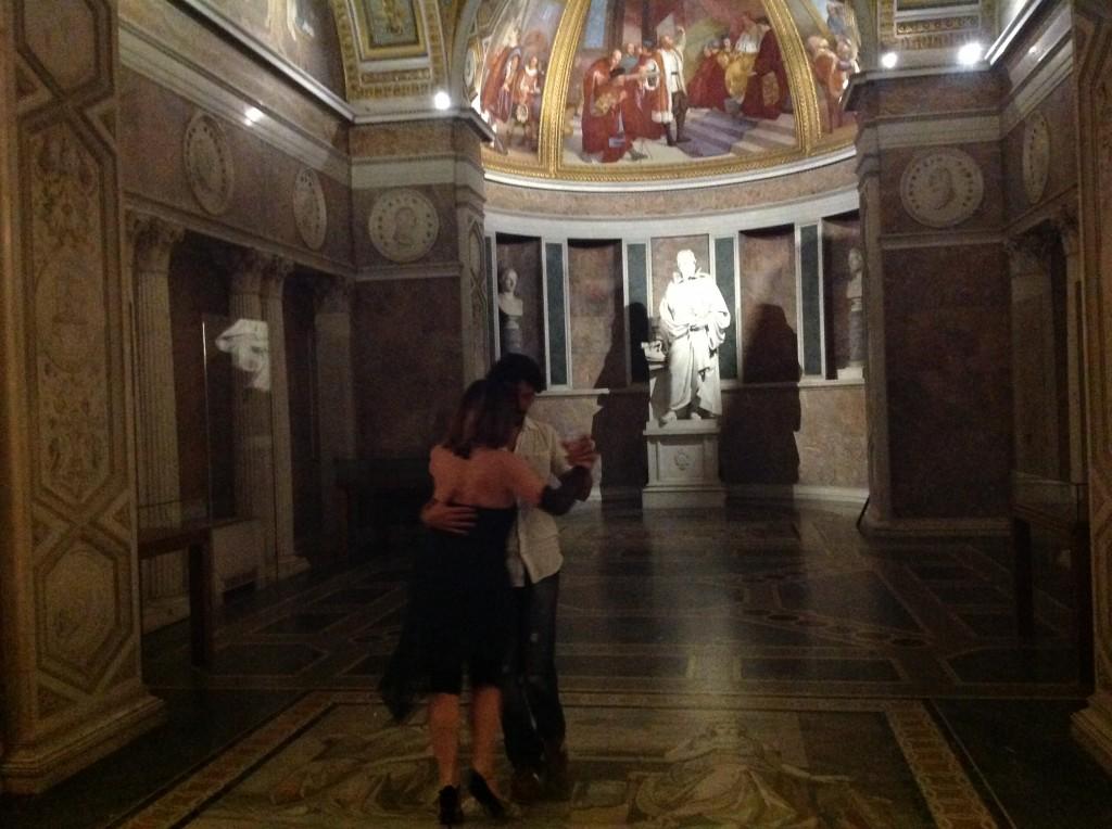 La sala di Galileo al museo La Specola